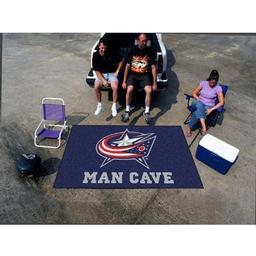 Click here to learn more about the Columbus Blue Jackets Man Cave UltiMat Rug 5''x8''.