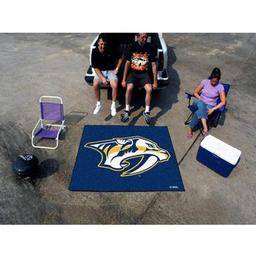 Click here to learn more about the Nashville Predators Tailgater Rug 5''x6''.
