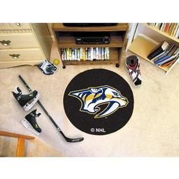 Click here to learn more about the Nashville Predators Puck Mat.