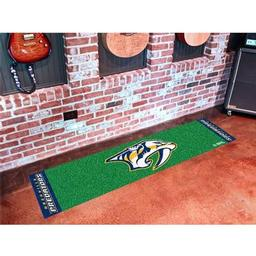 Click here to learn more about the Nashville Predators Putting Green Mat.