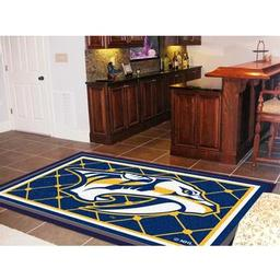 Click here to learn more about the Nashville Predators Rug 5''x8''.