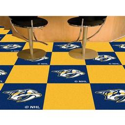 Click here to learn more about the Nashville Predators Team Carpet Tiles.