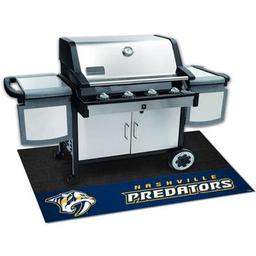 "Click here to learn more about the Nashville Predators Grill Mat 26""x42""."