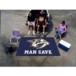 Click here to learn more about the Nashville Predators Man Cave UltiMat Rug 5''x8''.