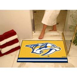 "Click here to learn more about the Nashville Predators All-Star Mat 33.75""x42.5""."