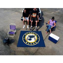 Click here to learn more about the St. Louis Blues Tailgater Rug 5''x6''.