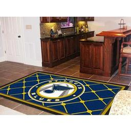 Click here to learn more about the St. Louis Blues Rug 5''x8''.