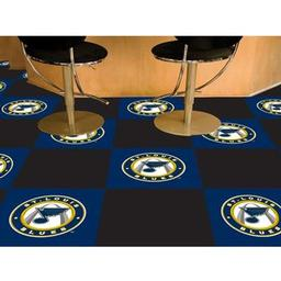 Click here to learn more about the St. Louis Blues Team Carpet Tiles.