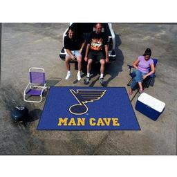 Click here to learn more about the St. Louis Blues Man Cave UltiMat Rug 5''x8''.