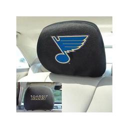 "Click here to learn more about the St. Louis Blues Head Rest Cover 10""x13""."