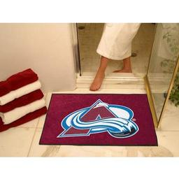 "Click here to learn more about the Colorado Avalanche All-Star Mat 33.75""x42.5""."