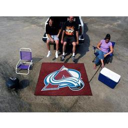 Click here to learn more about the Colorado Avalanche Tailgater Rug 5''x6''.