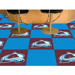 Click here to learn more about the Colorado Avalanche Team Carpet Tiles.