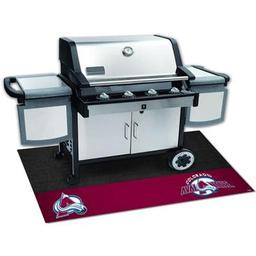 "Click here to learn more about the Colorado Avalanche Grill Mat 26""x42""."