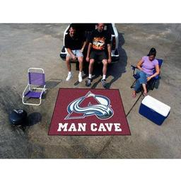 Click here to learn more about the Colorado Avalanche Man Cave Tailgater Rug 5''x6''.