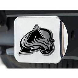 "Click here to learn more about the Colorado Avalanche Hitch Cover 4 1/2""x3 3/8""."