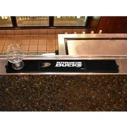 "Click here to learn more about the Anaheim Ducks Drink Mat 3.25""x24""."