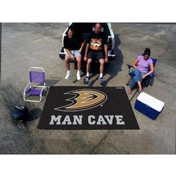 Click here to learn more about the Anaheim Ducks Man Cave Tailgater Rug 5''x6''.