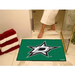 "Click here to learn more about the Dallas Stars All-Star Mat 33.75""x42.5""."