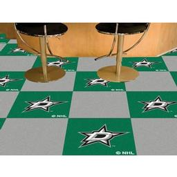 Click here to learn more about the Dallas Stars Team Carpet Tiles.