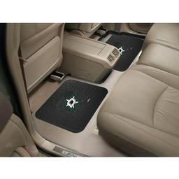 "Click here to learn more about the Dallas Stars Backseat Utility Mats 2 Pack 14""x17""."