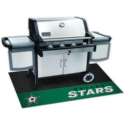 "Click here to learn more about the Dallas Stars Grill Mat 26""x42""."