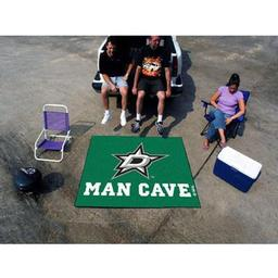 Click here to learn more about the Dallas Stars Man Cave Tailgater Rug 5''x6''.