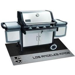 "Click here to learn more about the Los Angeles Kings Grill Mat 26""x42""."