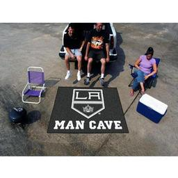 Click here to learn more about the Los Angeles Kings Man Cave Tailgater Rug 5''x6''.
