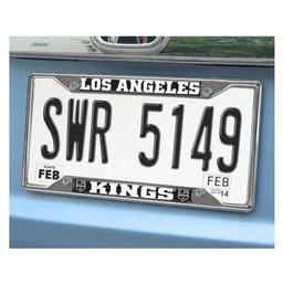 "Click here to learn more about the Los Angeles Kings License Plate Frame 6.25""x12.25""."