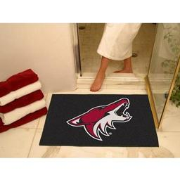 "Click here to learn more about the Phoenix Coyotes All-Star Mat 33.75""x42.5""."