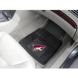 Click here to learn more about the Phoenix Coyotes 2-pc Vinyl Car Mat Set.
