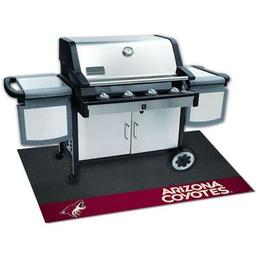 "Click here to learn more about the Phoenix Coyotes Grill Mat 26""x42""."