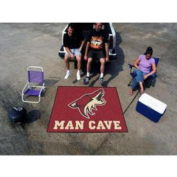 Click here to learn more about the Phoenix Coyotes Man Cave Tailgater Rug 5''x6''.