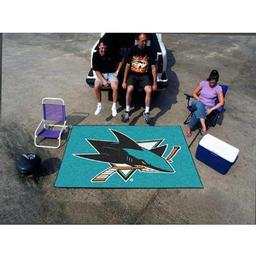 Click here to learn more about the San Jose Sharks Tailgater Rug 5''x6''.