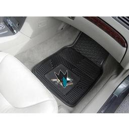Click here to learn more about the San Jose Sharks 2-pc Vinyl Car Mat Set.
