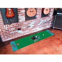 Click here to learn more about the San Jose Sharks Putting Green Mat.