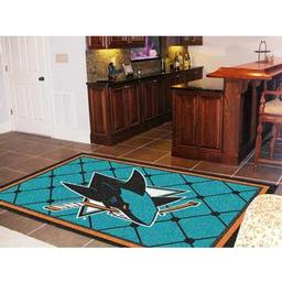 Click here to learn more about the San Jose Sharks Rug 5''x8''.