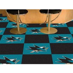 Click here to learn more about the San Jose Sharks Team Carpet Tiles.