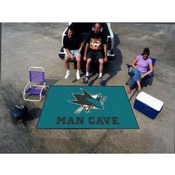 Click here to learn more about the San Jose Sharks Man Cave UltiMat Rug 5''x8''.