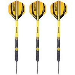 Click here to learn more about the Winmau Stratos Dual Core Steel Tip Darts.