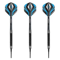 Click here to learn more about the Winmau Black Diamond 90% Tungsten Soft Tip Darts, 18 Gram.