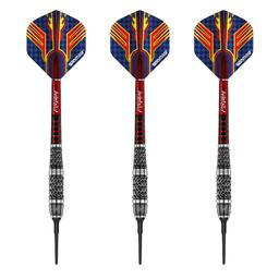 Click here to learn more about the Winmau Calibra 90% Tungsten Soft Tip Darts 20 Gram.