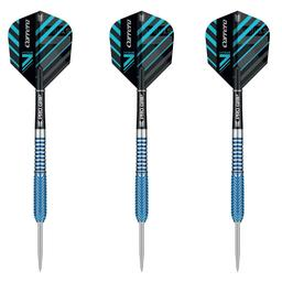Click here to learn more about the Target Darts Carrera V-Stream 90% V1 Tungsten Steel Tip Darts .