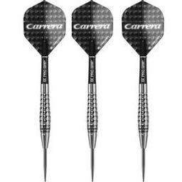 Click here to learn more about the Carrera C18 90% Tungsten Steel Tip Darts.