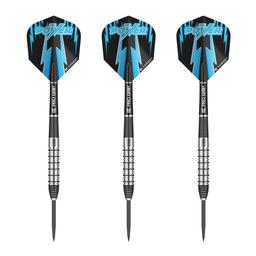 Click here to learn more about the Phil Taylor Power 8Zero 80% Tungsten Steel Tip Darts .