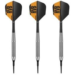 "Click here to learn more about the Raymond Van Barneveld ""RVB"" Tungsten-Look Brass Darts 18 Gram."