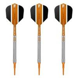 "Click here to learn more about the Raymond Van Barneveld ""RVB"" 80% Tungsten Soft Tip Darts."