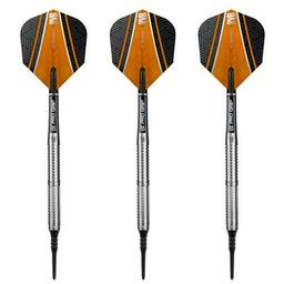 "Click here to learn more about the Raymond Van Barneveld ""RVB"" 90% Tungsten Soft Tip Darts 18 Gram."