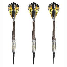 Click here to learn more about the Phil Taylor 9Five Gen 3 Japan 95% Tungsten Soft Tip Darts 20 Gram.